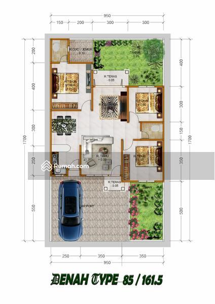 Rumah cantik dan asri bernuansa islami di panam #101425140