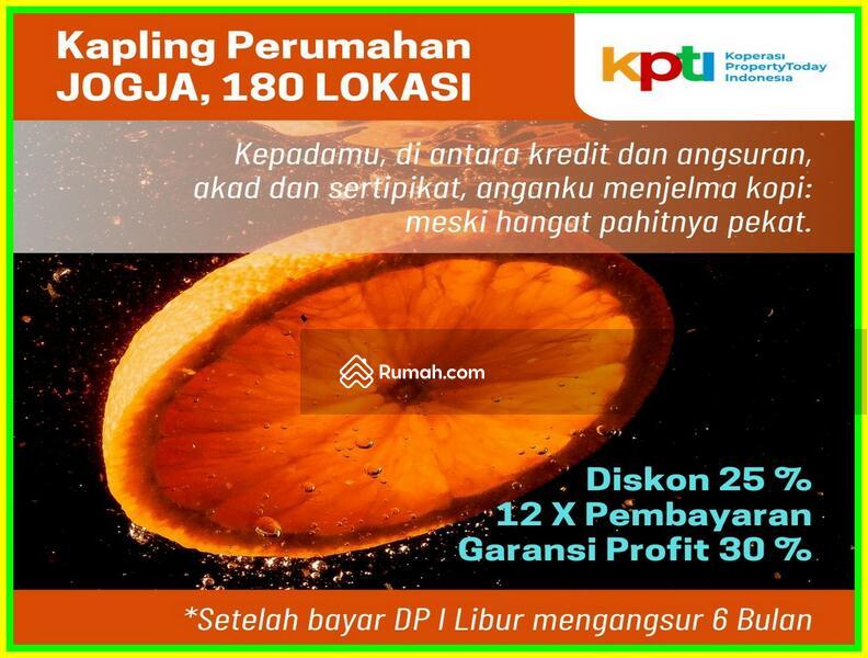 Cicil 12x Tanpa Bunga: Tanah Kapling Jogja 2 Km Kampus UTY #101449488
