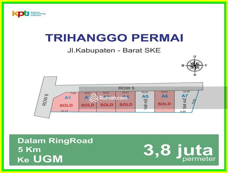 Cicil 12x Tanpa Bunga: Tanah Kapling Jogja 2 Km Kampus UTY #101449490