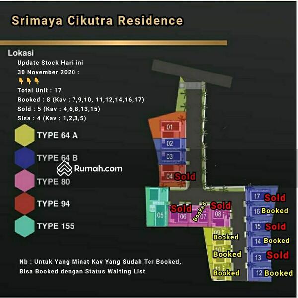 20 unit Rumah murah strategis cikutra 900jt #101450156