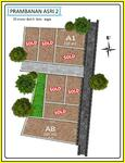 Tanah Kavling Siap AJB; Area Prambanan 25 Meter Ke Jalan Jogja Solo