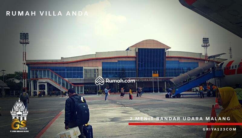 Rumah villa strategis dekat bandara dan exit tol malang #101638688