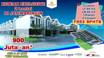 Dijual - Rumah mewah dalam cluster harga perdana free bphtb