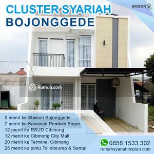 Dijual - Wow, Rumah Bojonggede Bogor Dekat Stasiun Kereta, Desain Modern Banyak Disuka