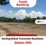 Tanah Kavling Bandung Legalitas SHM, Diskon 25% dekat Pintu Tol Buahbatu