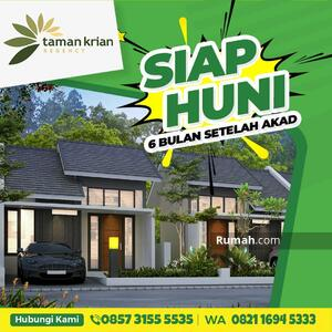 Dijual - Rumah 200jtan diskon 50jt Taman Krian Regency