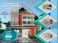 Dijual - Promo Harga Perdana Rumah 3 Lantai Dengan Rooftop
