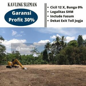 Dijual - Kavling Murah di Kaliurang, Legalitas SHM