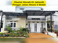 Dijual - Termurah Rumah Di Sirojul Munir, pinggir jalan akses 2 mobil. Jatisari Jatiasih
