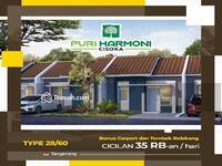 Dijual - Promo DP 0 Rumah Subsidi Puri Harmoni Cisoka Stasiun Terdekat Tigaraksa