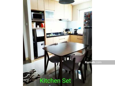 Dijual - Dijual Apartemen Sudirman Park 3BR Hoek, Full Furnished, Middle Fl. bisa KPA