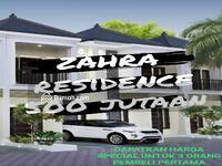 Dijual - Beli cluster 2 lt free shm + smart home di zahra residence bsd