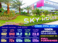 Dijual - Apartment Sky House BSD+ (samping AEON MALL)