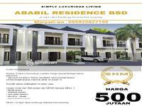 Dijual - Di jual cluster ABABIL 2 lt unit terbatas free shm + smart home