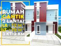 Dijual - Hot Deal Rumah Impian 2 Lt 5 Menit dr Exit Tol Andara