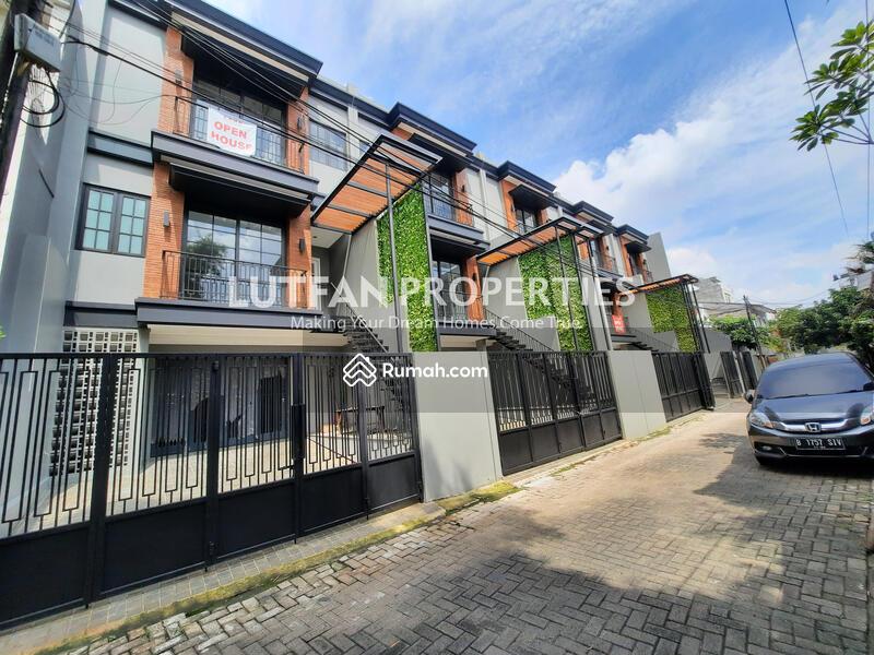 Rumah SOHO Bergaya American Industrial Dekat Stasiun MRT Cipete Dengan 2 IMB Rumah Dan Kantor #102346574