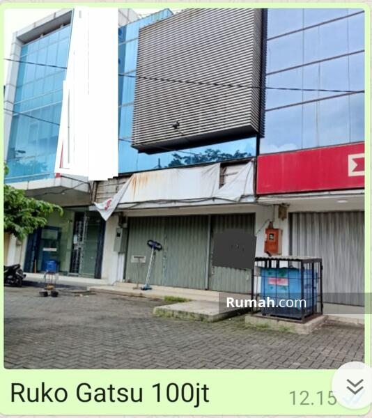 Disewa ruko Gatsu #102362694