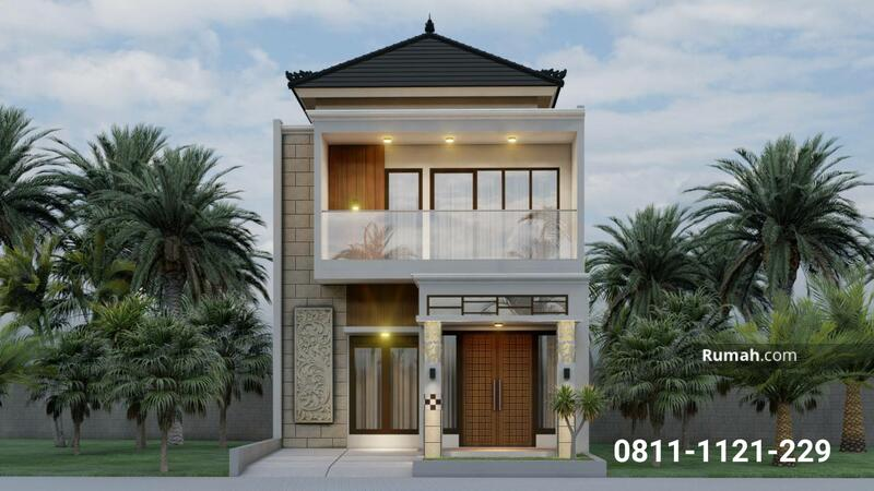 Rumah Cimanggis Depok 2 Lantai Pinggir Jalan Raya Dekat Cibubur Hanya 5 Menit ke Pintu Tol #102571824
