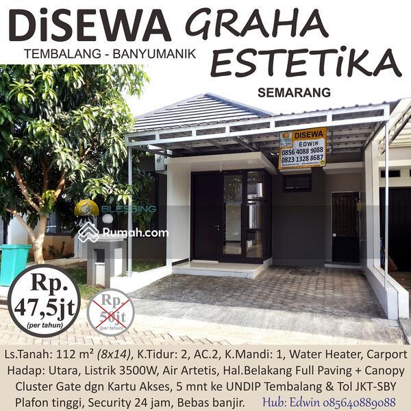 DISEWAKAN Rumah Cluster di Graha Estetika, Hanya 5 mnt dr UNDIP Tembalang & Pintu Tol