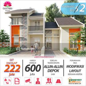 Dijual - Rumah Custom Tersedia Kolam Renang, Playground dekat Alun-Alun Depok