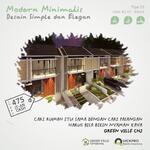 Hunian Minimalis 2 Lantai di Cihanjuang Bandung Dekat Pemkot Cimahi