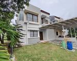 Rumah Hoek 2lt Siap Huni 211m type 4KT cluster cassia JGC Jakarta garden city Cakung