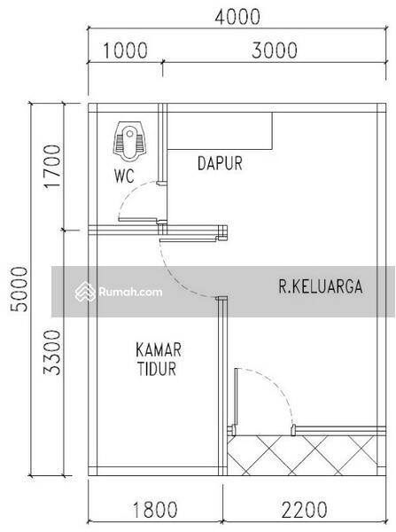 Denah Rumah Minimalis Pulogebang Cakung Jakarta Timur