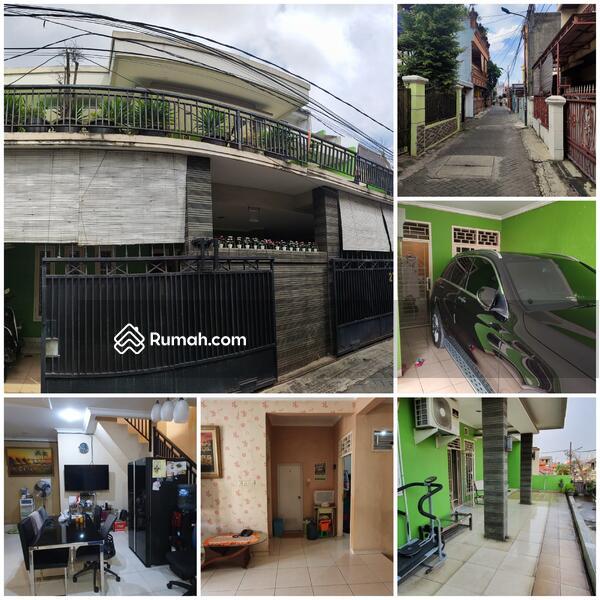Rumah 2 1/4 lantai furnished siap huni di jalan sainin Kemanggisan Palmerah Jakarta barat #109232280