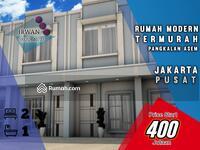 Dijual - Rumah Murah Pangkalan Asem Jakarta Pusat, Rumah Baru Murah Jakarta Pusat