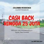 Tanah Kavlingan Cash Back Hingga 25 Jt, Sertifikat Hak Milik