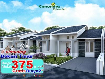 Dijual - Rumah Cantik Murah DP 10jtan cicilan 2 jtan di cimuning Bekasi timur
