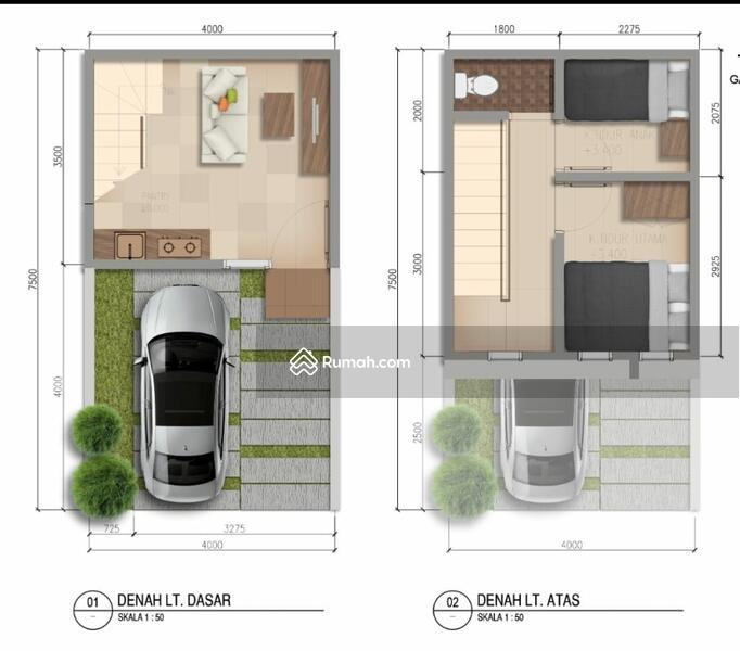 Miliki Rumah 2 lantai harga 1 lantai di Galuh Mas #103180390