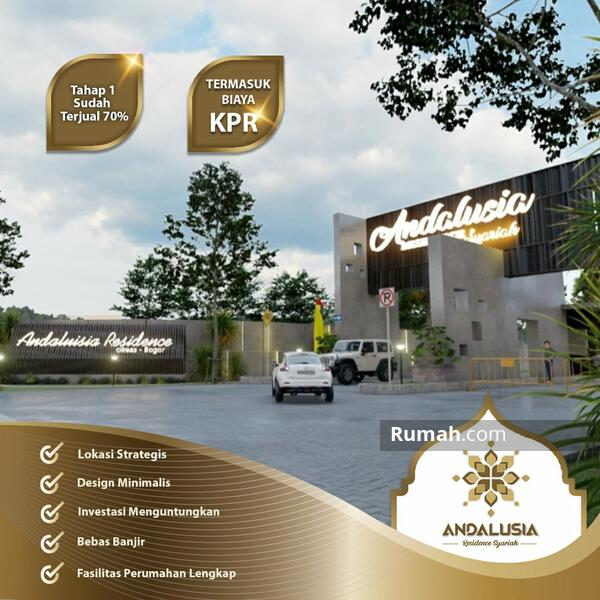 Rumah Mewah 2 Lantai Di Cibubur Cikeas KPR Syariah DP Ringan Cicilan Flatt #103189752