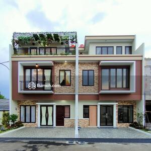 Dijual - rumah 3 lantai di jatiasih bekasi design modern