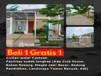 Dijual - Unit Terbatas! Rumah Beli 1 Gratis 1 Private Cluster Gratis Kolam Renang Mulai 480 jt-an