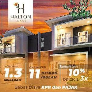 Dijual - Rumah Mewan Termewah di Medan Tenggara (Halton Place)