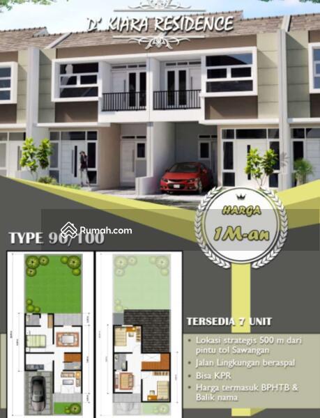 Dijual Rumah Baru 2 lantai (Indent). Dlm Cluster hanya 7 Unit  500m dr Pintu Tol Sawangan #104624772