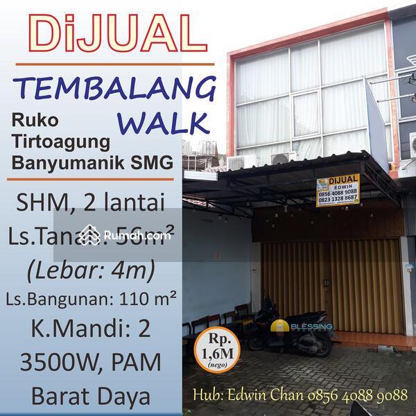 Dijual Ruko SHM 2 lantai di Jl.Tirtoagung, Banyumanik, Semarang