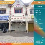Disewakan Ruko 2    lantai di jl Borobudur   Malang*