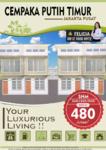 Dijual Rumah Murah Cantik Minimalis 400 Jutaan SHM di Cempaka Putih Jakarta Pusat