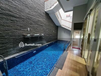 Dijual - Rumah Lux Mewah Baru Gress Antapani Arcamanik Langsung Pakai Full Furnish, Kolam Renang