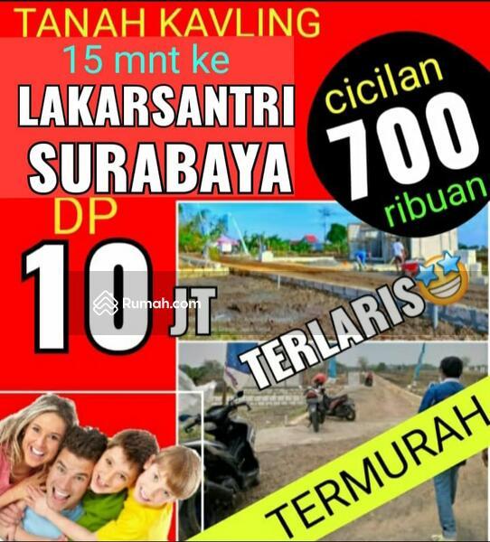 Tanah Kavling murah barat Surabaya Dp 10 jt cicilan 700 ribuan cash 38 jt Sangat Strategis #103726294
