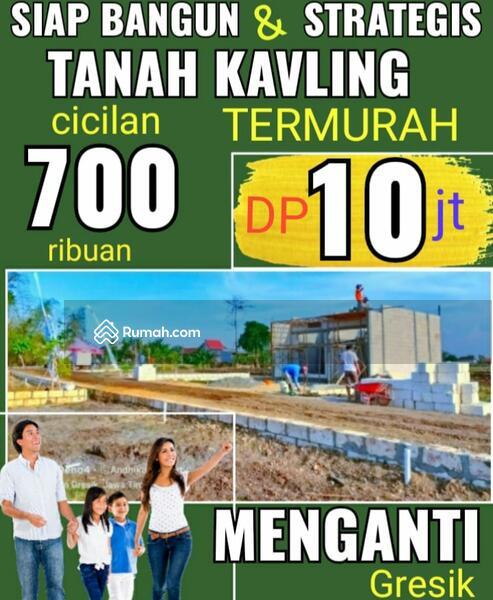 Tanah Kavling murah barat Surabaya Dp 10 jt cicilan 700 ribuan cash 38 jt Sangat Strategis #103726300