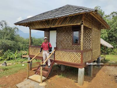 Dijual - Tanah kavling di Bogor, View Pemandangan dan Sawah