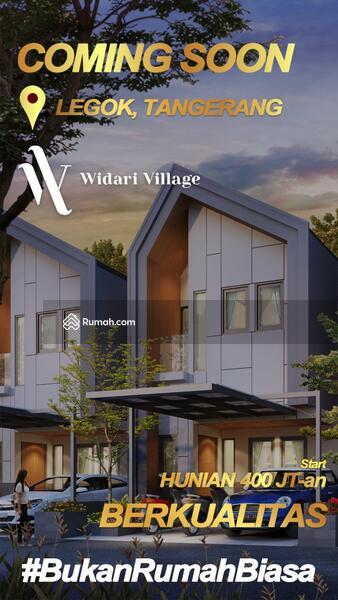 Dijual Rumah Baru Modern Strategis di Widari Village #104018944