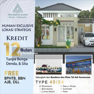 Dijual - Rumah elite modern minimalis murah Lokasi dekat Bandara dan AURI