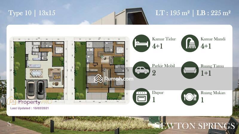 Rumah Premium SANCTUARY COLLECTION Sentul Newton Spring Tipe 10 #104066372