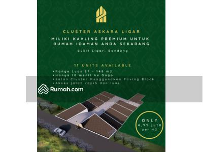 Dijual - KAVLING PREMIUM DI CLUSTER ELIT LIGAR MULYA | Harga Masih Pre Sale