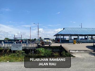 Dijual - Tanah pelabuhan Rambang