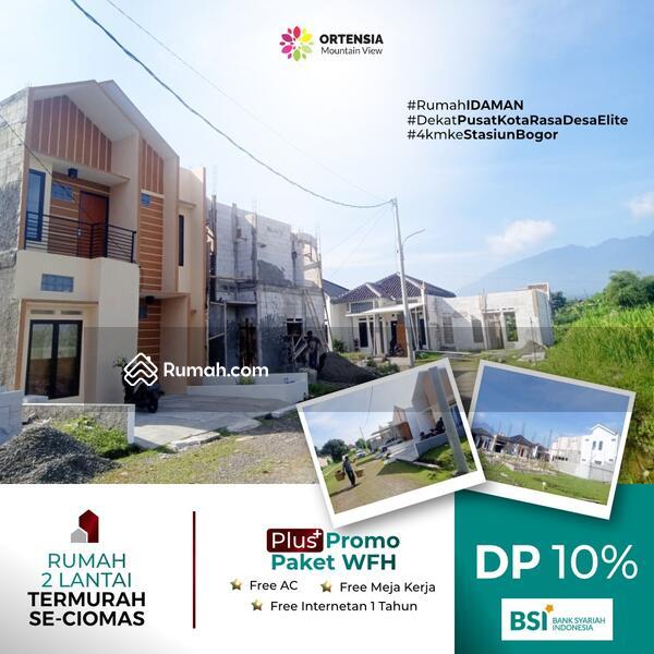 Rumah Dua Lantai DP 10% Termurah Ciomas dekat Stasiun Bogor Banjir Bonus #104206728